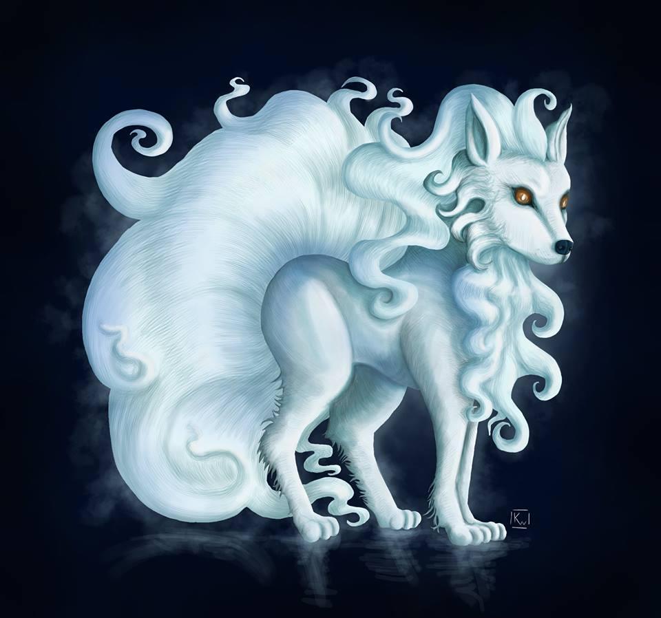 Renard blanc -kwuillot