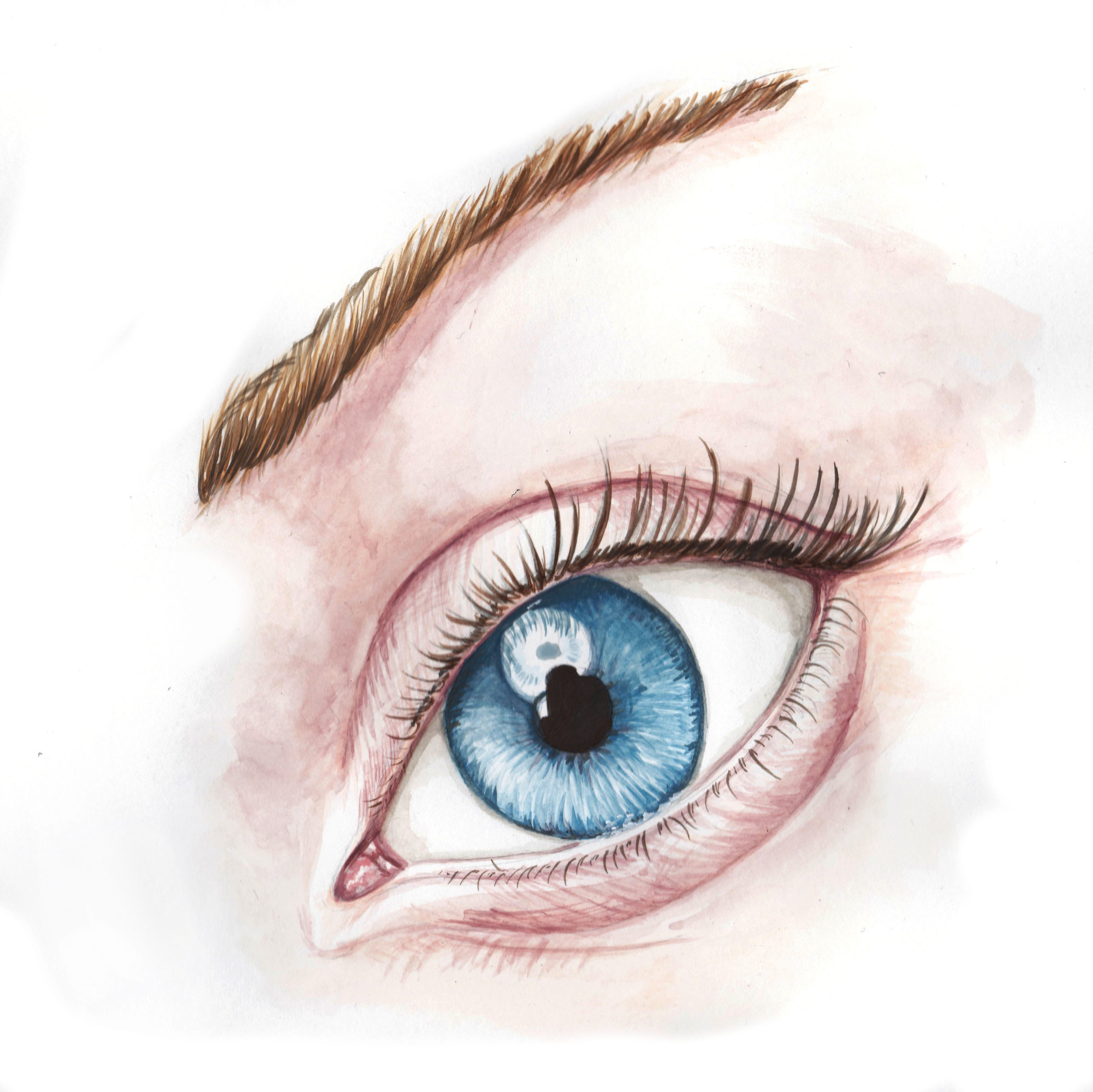 illustration réaliste oeil