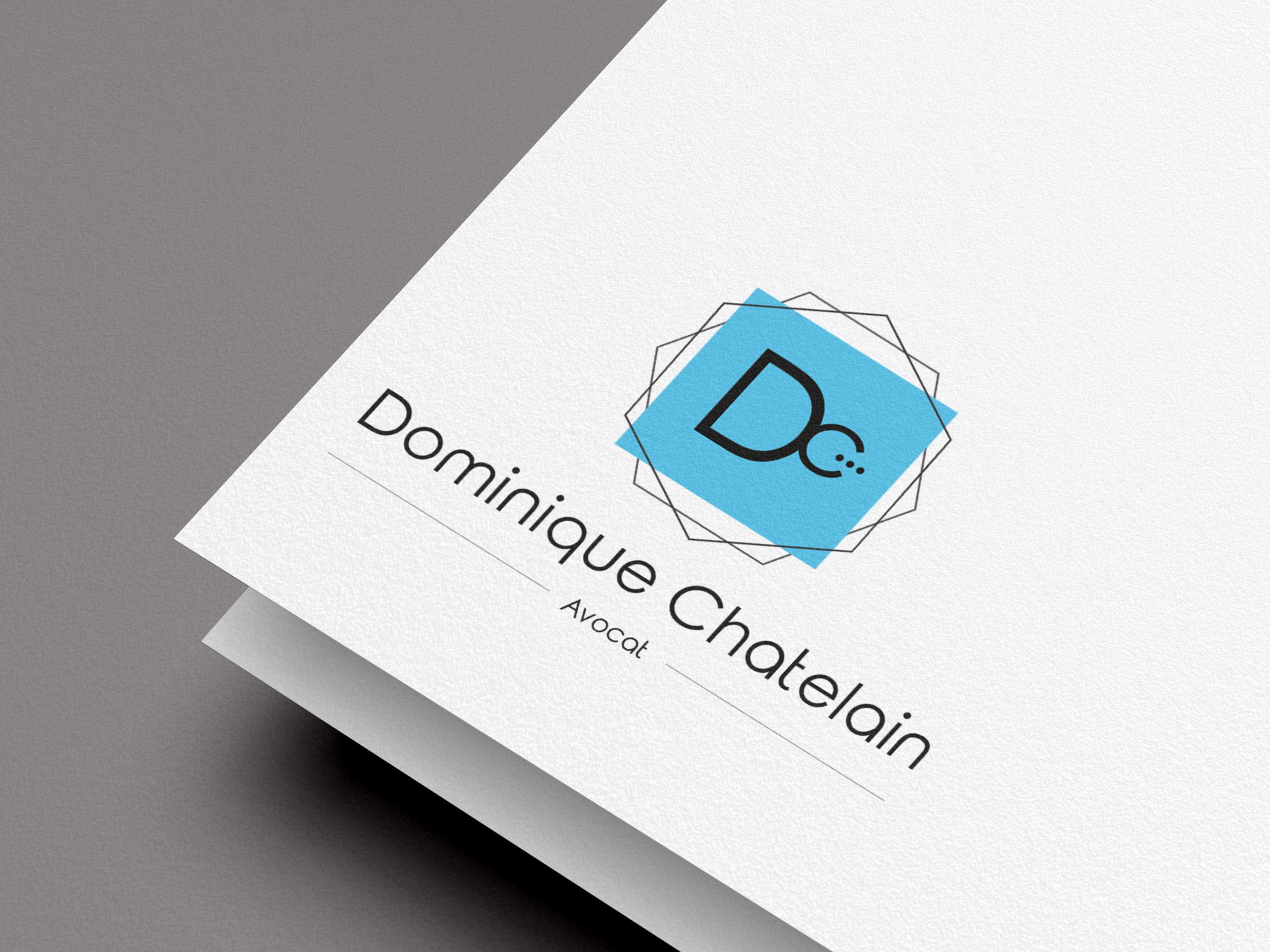 logo avocat minimaliste