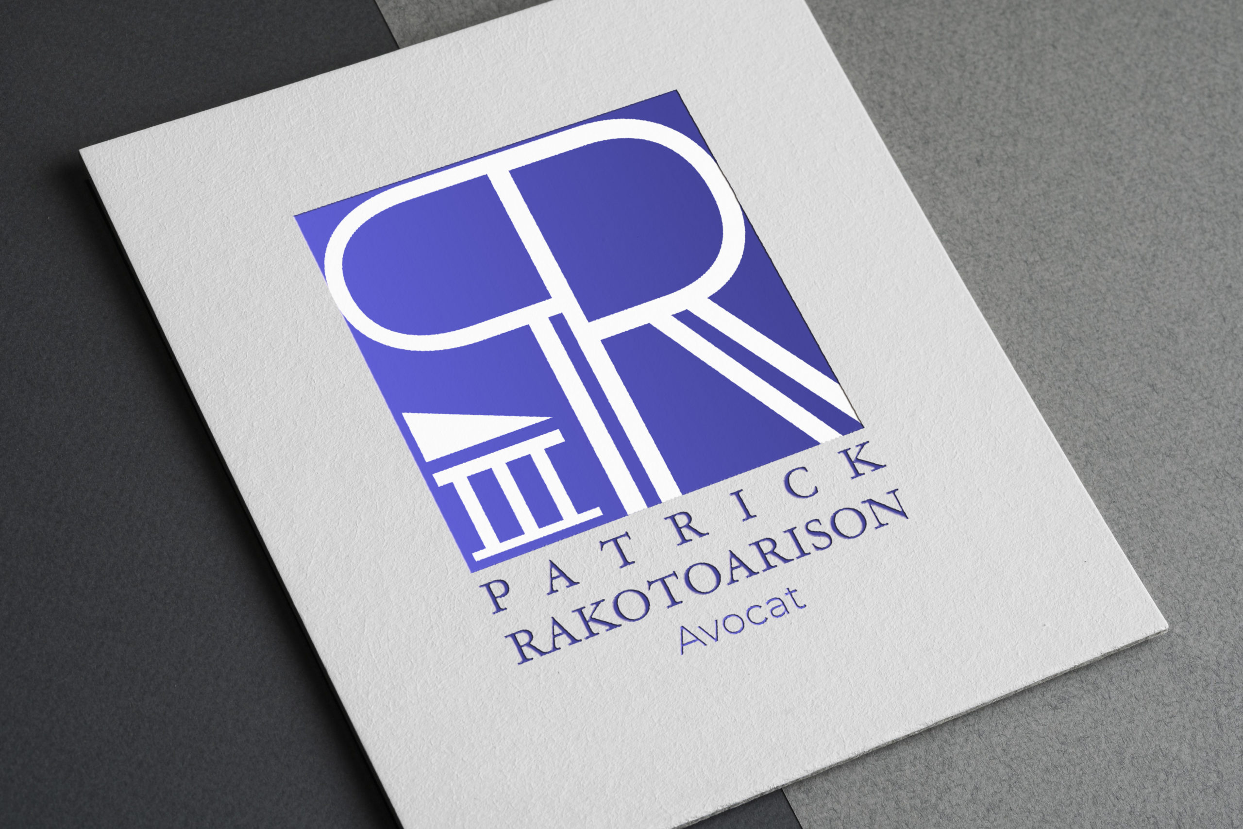Logo avocat Patrick Rakotoarison